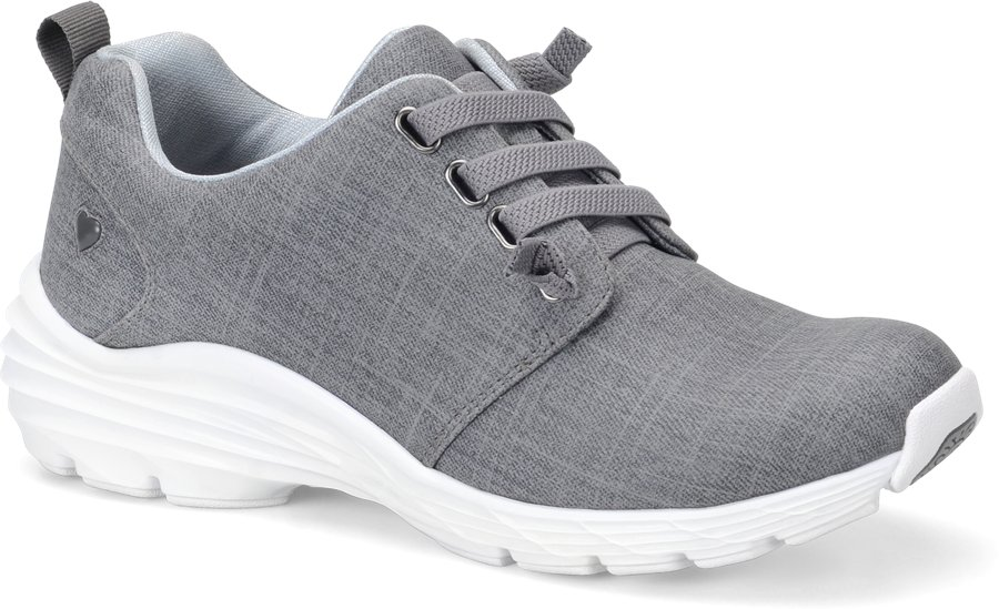 Nurse Mates Women's Velocity Gray Swirl Lace-Up Shoe-Nurse Mates Shoes