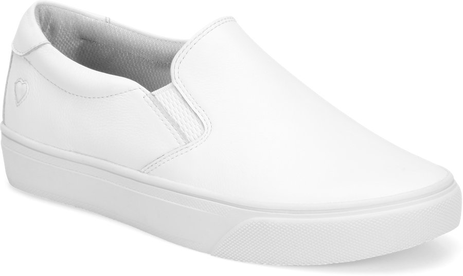 Nurse Mates Women's Faxon White Slip-On Shoe-Nurse Mates Shoes