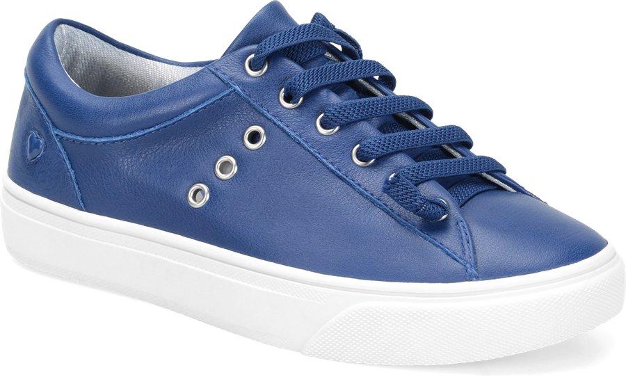 Nurse Mates Women's Fenton Navy Lace-Up Shoe-