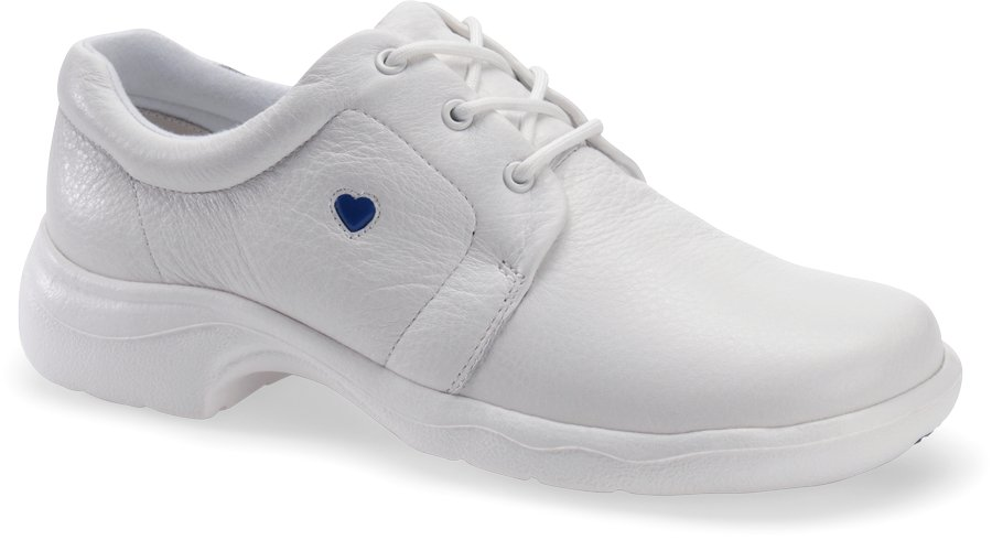 Nurse Mates Women's Angel White Lace-Up Shoe-Nurse Mates Shoes