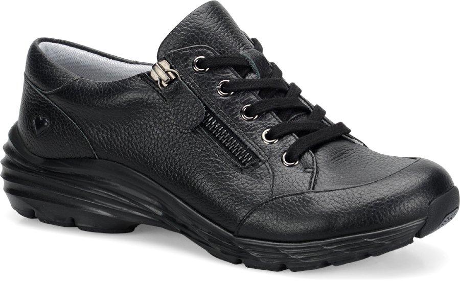 Nurse Mates Women's Vigor Black Lace-Up Shoe-