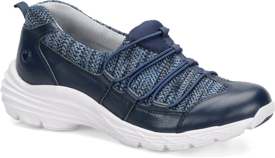 Nurse Mates Women's Dash Denim Navy Slip-On Shoe-Nurse Mates Shoes