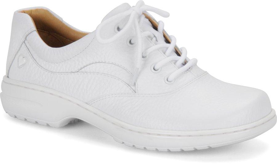 Nurse Mates Women's Macie White Lace-Up Shoe-Nurse Mates Shoes