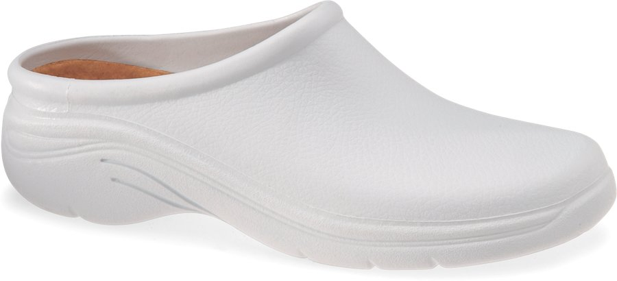 Quark Quarky White Clog Shoe-