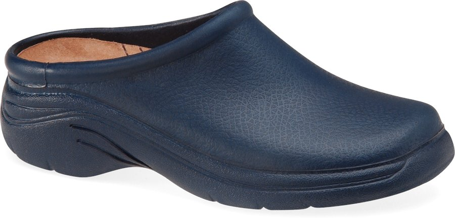 Quark Quarky Navy Clog Shoe-Nurse Mates Shoes