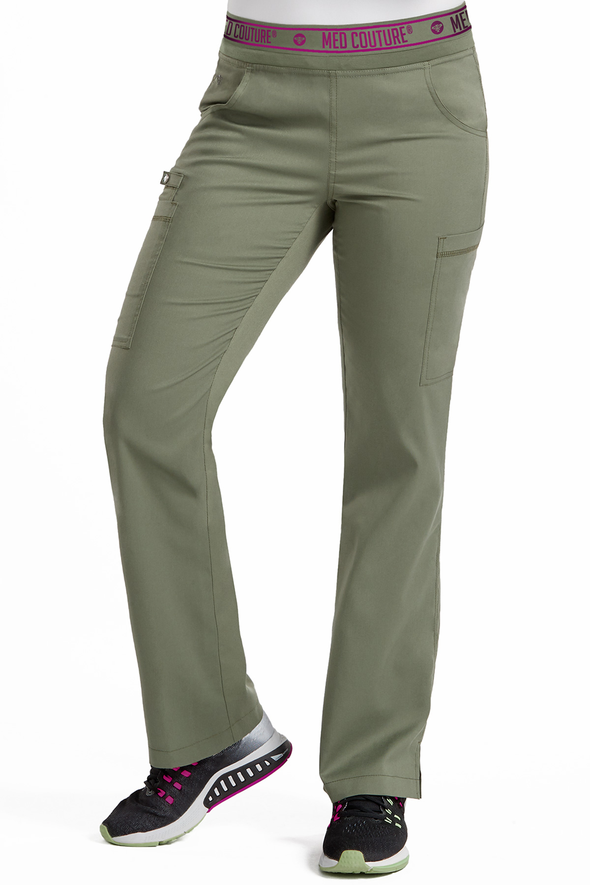 Med Couture Touch Yoga 2 Cargo Pocket Pant-Med Couture Touch