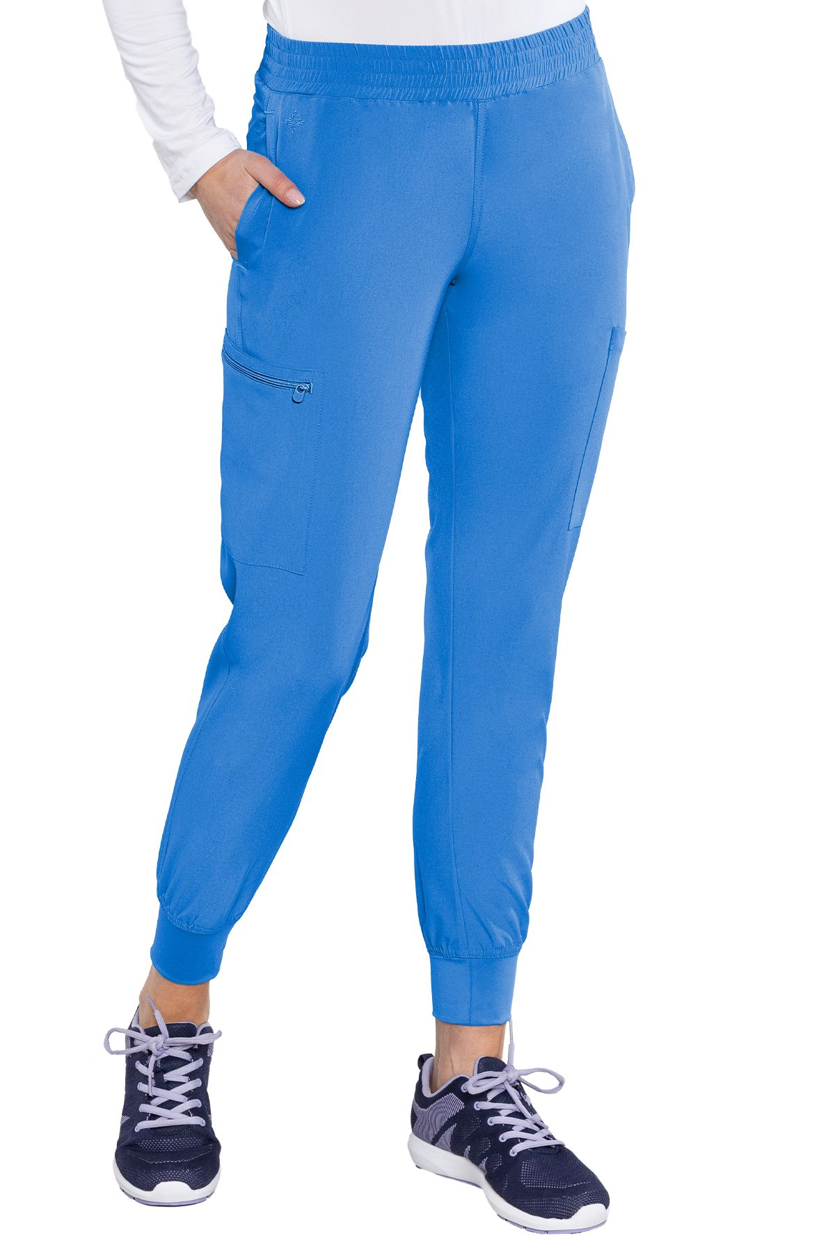 Smocked Waist Jogger-Med Couture Energy