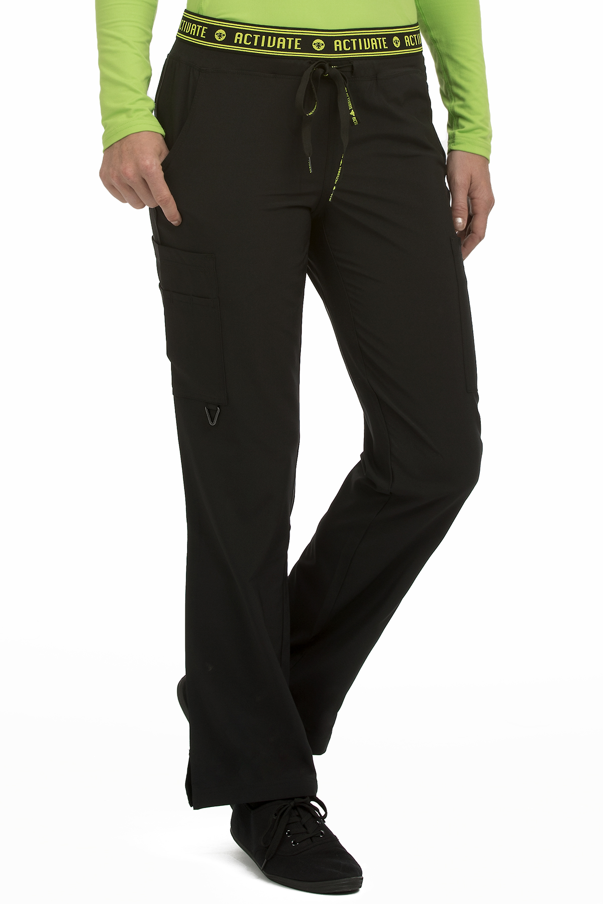 Flow Yoga Cargo Pant-Med Couture