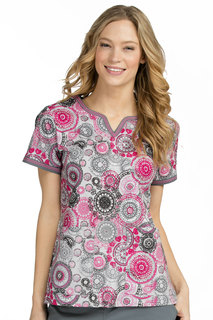 Med Couture Women's Ella Print Top