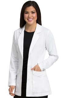 "31"" Mid Length Lab Coat-Med Couture"