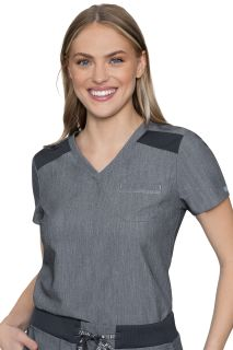 Touch Chest Pocket Top-Med Couture Touch