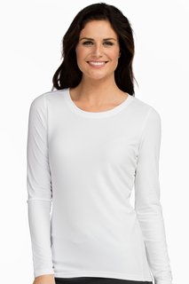 Med Couture Active Performance Knit Tee-Med Couture