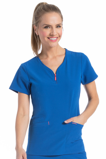 Women's Med Couture Zippity Top