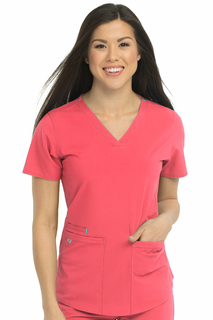 Racerback Shirttail Top-Med Couture Energy