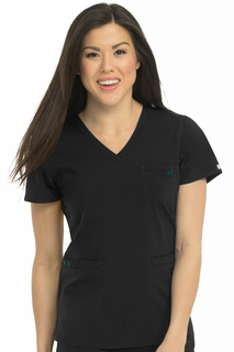 V-Neck 3 Pocket Top-Med Couture Energy