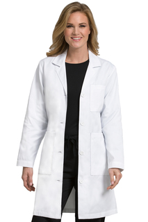 Med Couture 3 Pocket Length Lab Coat-Med Couture