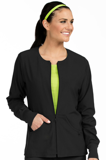 Med Couture Activate Zip Front Warm Up-Activate