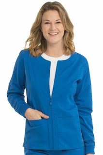 Women's Med Couture Zip Front In-Seam Warm Up Jacket-Med Couture