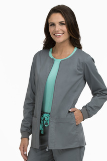 Zip Front Warm Up-Med Couture