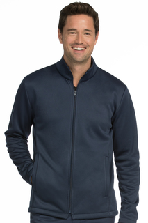 Mens Bonded Fleece Jacket-Med Couture