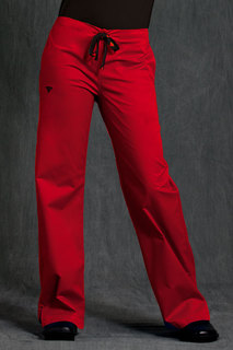 Signature Back Elastic Pant-Med Couture