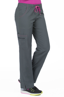 Color Block Pant-Med Couture