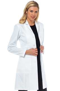 Tailored Empire Lab Coat-Med Couture Boutique