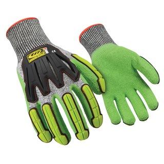 Knit Cut 5 Green Impact Glove-Ringers Gloves