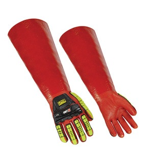 075 Impact PVC Dip Glove
