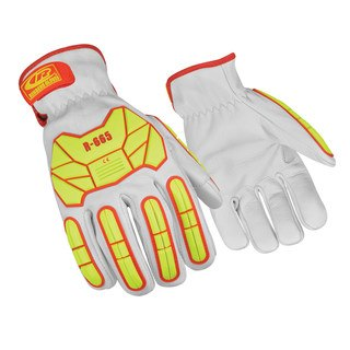 665 Cut 5 Leather Glove with Impact Protection-Ringers Gloves