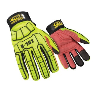 R-161 Light Duty Series Syn. Leather Padding-Ringers Gloves
