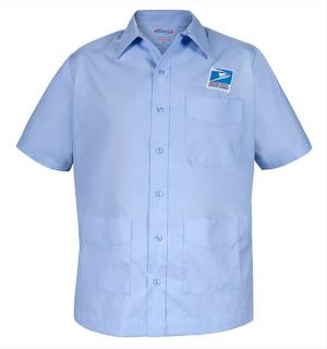 Letter Carriers Shirt Jac Short Sleeve - Mens-Elbeco