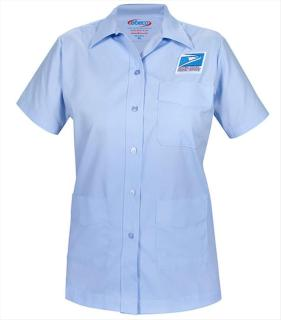 Letter Carrier Short Sleeve Shirt Jac-Womens-