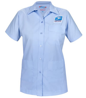 Letter Carriers Shirt Jac Short Sleeve - Womens