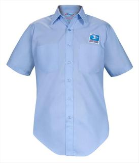 Letter Carrier Short Sleeve Dress Shirt-Mens-Elbeco