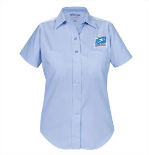 Letter Carrier Short Sleeve Dress Shirt-Womens-Elbeco