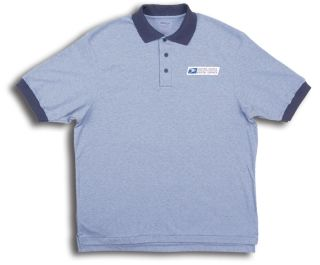 Retail Clerk Knit Polo Short Sleeve Shirts - Mens