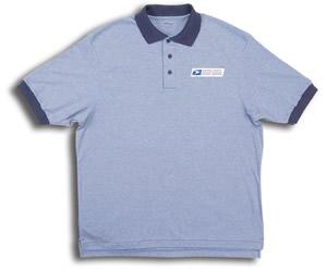 Retail Clerk Knit Polo Short Sleeve Shirts - Mens