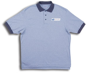 Retail Clerk Knit Polo Short Sleeve Shirts - Womens