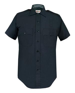 LAPD 100% Wool Short Sleeve Shirts - Mens