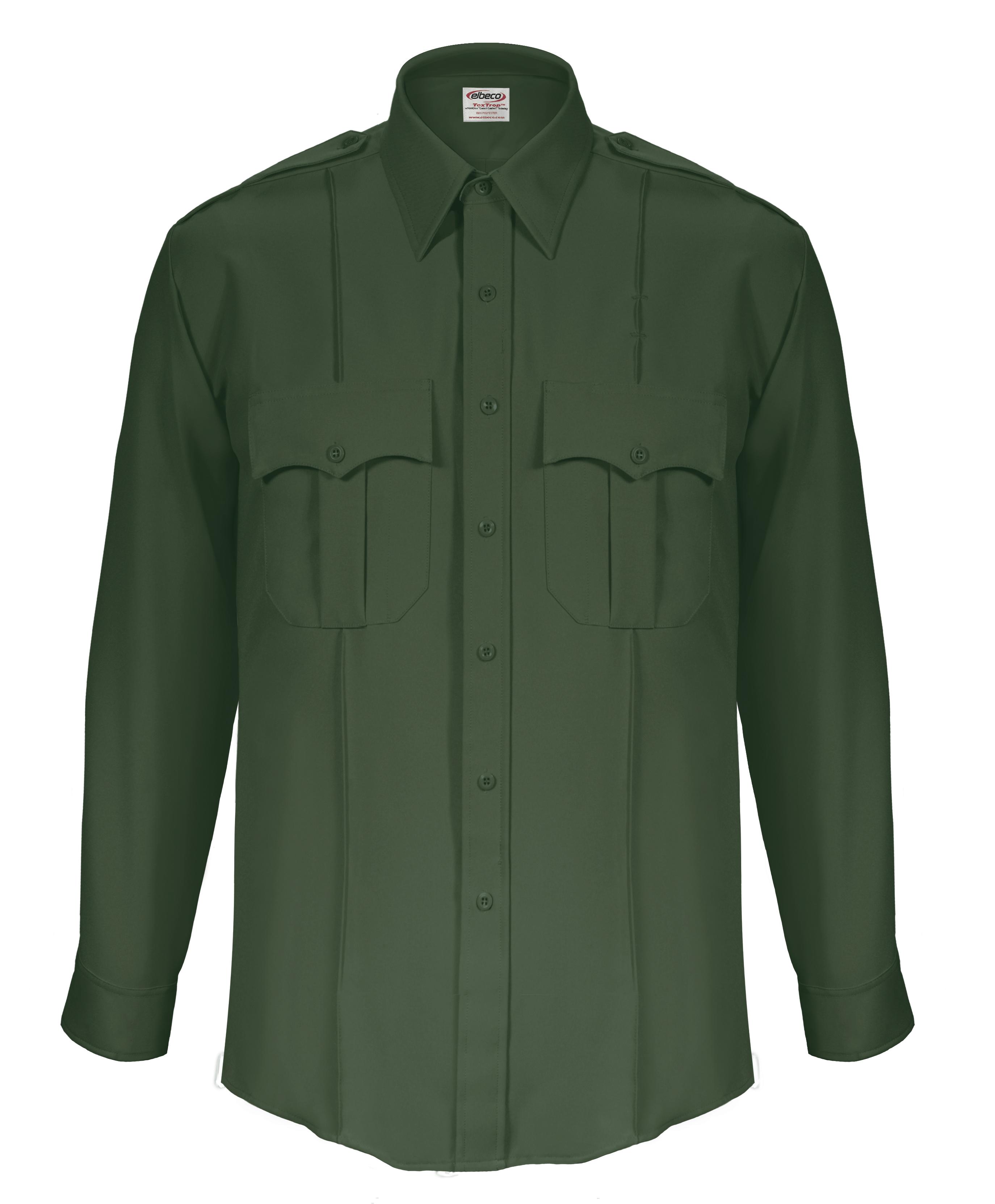 70e41585e355 Buy TexTrop2 Long Sleeve Shirt with Hidden Zipper-Mens - Elbeco ...