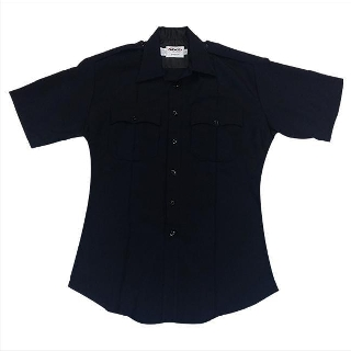 Distinction Plain Pocket Short Sleeve Shirts - Womens