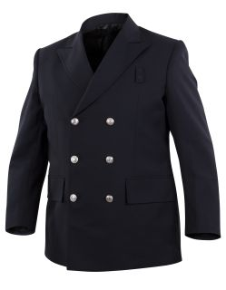 Top Authority Double-Breasted 2-Pocket Blousecoat-