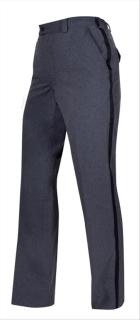 Letter Carrier Lightweight Pants with Navy Stripe-Womens-Elbeco