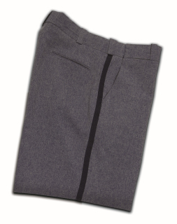 Letter Carrier Comfort Cut Pants with Navy Stripe-Mens-