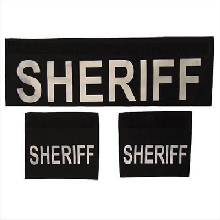 Shield ID Panels-SHERIFF-Elbeco