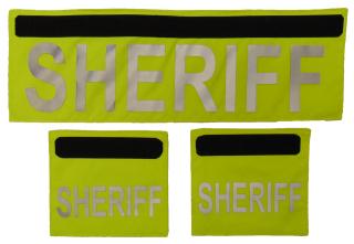 Shield ID Panels-SHERIFF-Elbeco