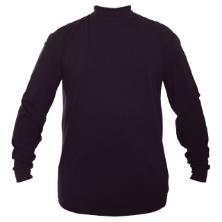 FlexTech Base Layer Mock T-Neck-Midnight Navy-Elbeco