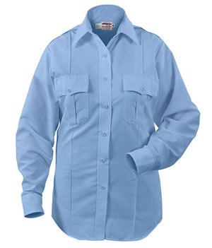 Paragon Plus Poplin Long Sleeve Shirt - Womens