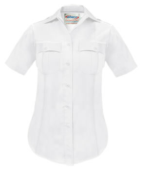 Paragon Plus Poplin Short Sleeve Shirt - Womens